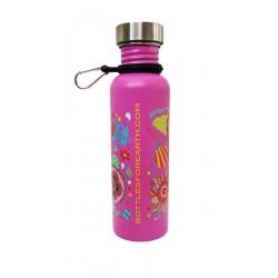 Audrey Flores Pink Bottle