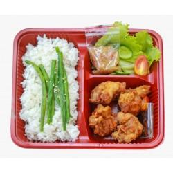 Bento Box Chicken Karage