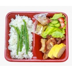 Bento Box Pork Belly Sesame Oil