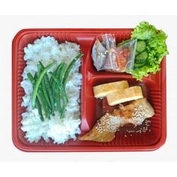 Bento Box Fish Teriyaki
