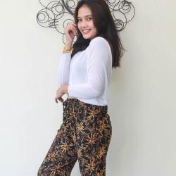 Bali Long Pants Dark Brown